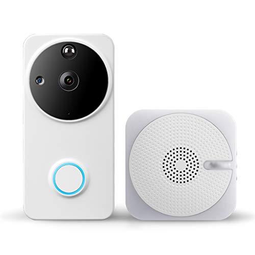 Xxw Intelligente Visuele Draadloze Wifi Afstandsbediening Thuis Beveiliging Deurbel Kan Sluit 8 Mobiele Telefoons Infrarood Nachtzicht