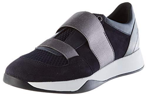 Geox Womens D SUZZIE D Sneaker, Navy,37 EU
