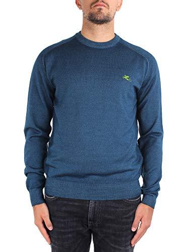 Etro 1M500 9671 - Camiseta para hombre turquesa L
