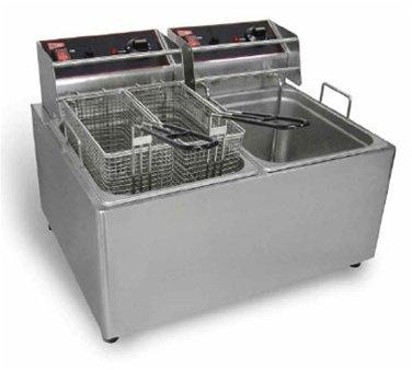 30 Lb Electric Countertop Fryer - Cecilware EL2X