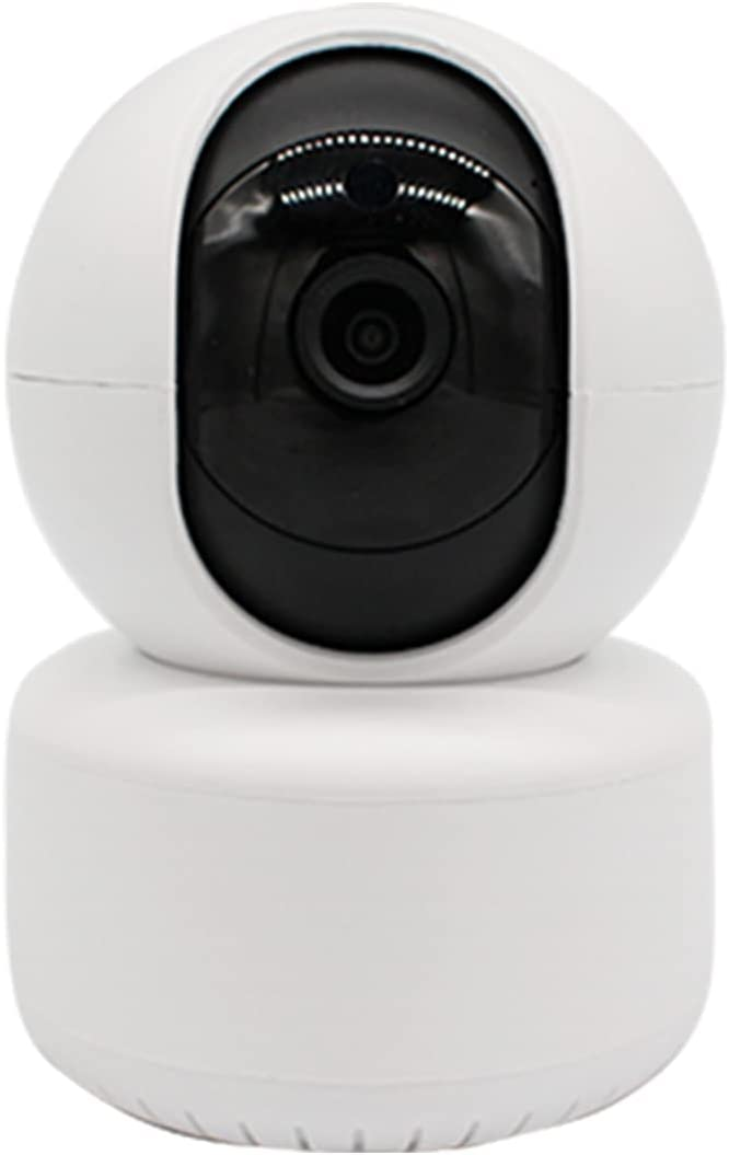 Home Security Camera, Nanny Dome Camera, with Night Vision, Two-Way Audio, Motion and face Detection, 360 Degrees, 1080P, Mobile app Wireless WiFi AP Connection Indoor Wireless WiFi Monitoring
