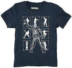 Fortnite Camiseta Manga Corta Negro