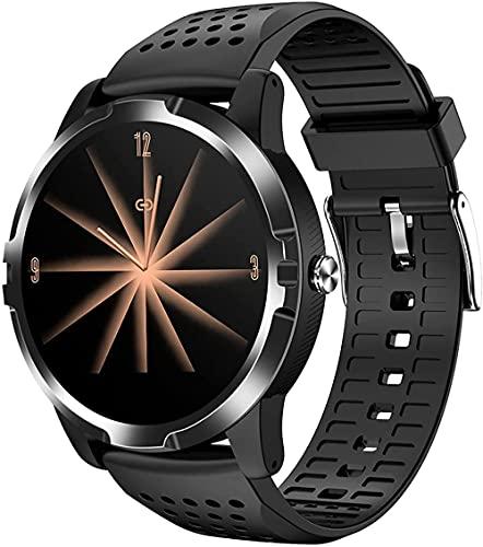 hwbq Reloj inteligente de los hombres pulsera inteligente con monitor podómetro monitor de sueño reloj de fitness rastreador de actividad IP67 impermeable-negro