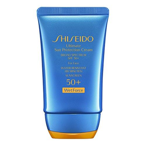 Shiseido Ultimate Sun Protection Cream SPF 50+ Wetforce, 2 Ounce...