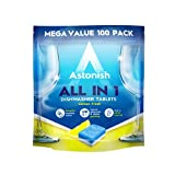 Image of Astonish All in 1 Dishwasher Tablets, 100-Piece