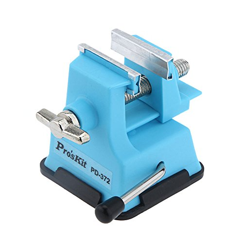 ProsKit PD-372 Mini Vise Bench Working Table Vice Bench DIY Jewelry Craft...