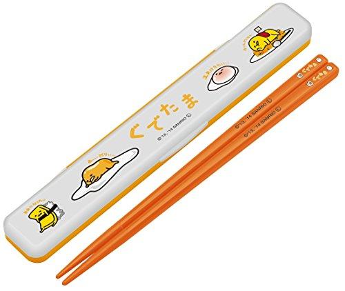 『箸 箸箱 セット 18cm ぐでたま サンリオ ABC3』のトップ画像