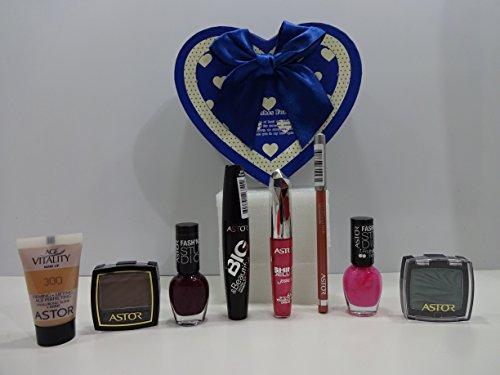Navidad Venta ~ Margaret Astor belleza make up caja de regalo–7pc Astor Make Up productos en caja de regalo + libre Astor Fundación.. 073...