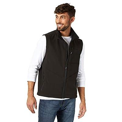 Wrangler Men's Concealed Carry Stretch Trail Vest, Black, 3XT