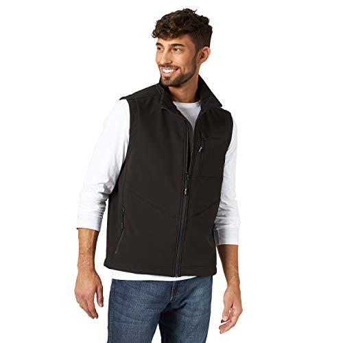 Wrangler Men's Concealed Carry Stretch Trail Vest, Black, S