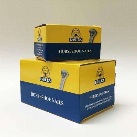 Mustad Delta E4 35% shop OFF Horseshoe Box 250 Nails Count
