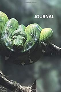 Journal: Emerald tree boa Nifty Bullet Journal Dot Grid Daily Planner Student for researching captive bred emerald tree boas for sale