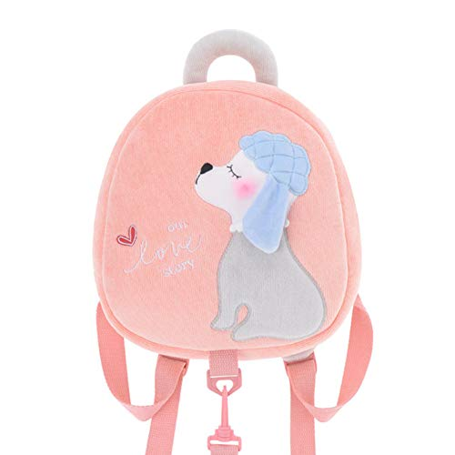 Lowest Prices! LLD Toddler Drawstring Backpack,Plush Toy Traction Rope Anti-Lost Children's Toy for ...