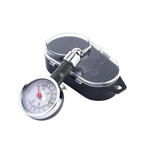 Medidor de presión de neumáticos Rueda Inflador de presión de aire Medidor Probador Medidor Herramienta de diagnóstico Coche Camión Motocicleta Bicicleta Universal