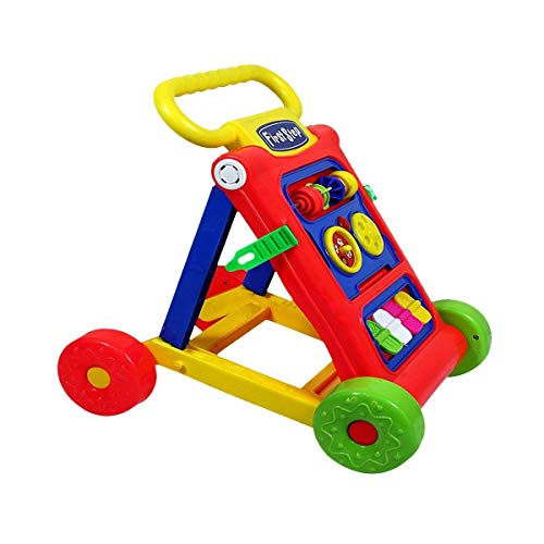 Toyboy My First Step Baby Activity Walker (Red, 9 Months -1.5 Years)
