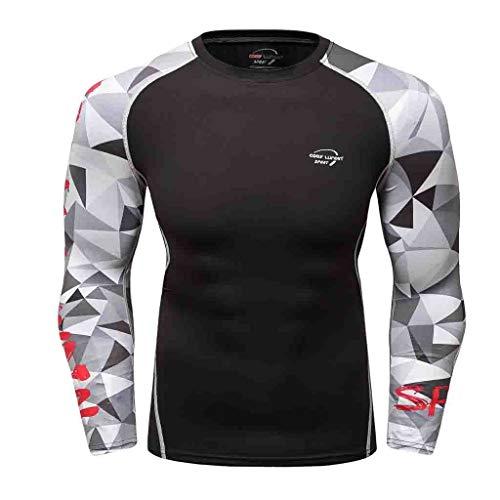 Berimaterry Ropa Deportiva para Hombres Running Musculación Gimnasio Atletismo Entrenamiento Fitness Hombres...