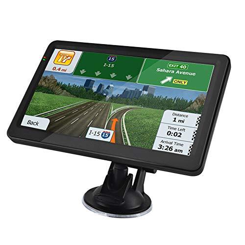 Sistema de navegación GPS para camión, portátil, satélite, de 7 Pulgadas, con cámara de Velocidad y Pantalla táctil de guía de Voz y Mapa de navegador de por Vida de la UE 47 países 2021