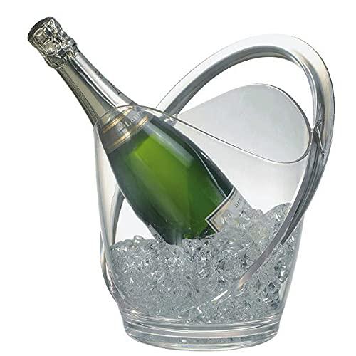 APS Enfriador de Vino/champán, Transparent, 9 x 12 x 16 cm