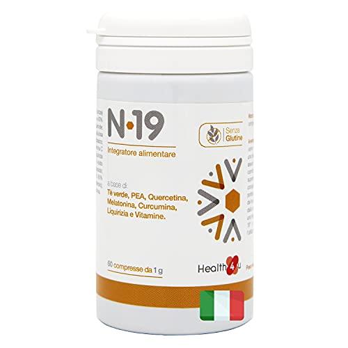 N-19 Integratore Alimentare Multivitaminico Made In Italy Senza Glutine Per Sistema Immunitario...