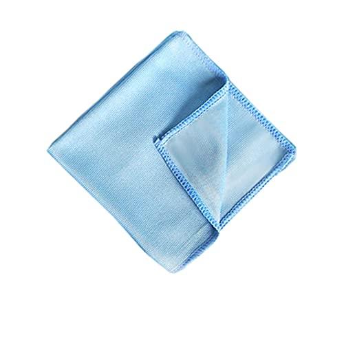Toalla de lavado de coches Microfibra Coche Belleza Microfibra Toallitas Absorbente Plato Toalla Limpiar Paño de Vidrios (Color : 30x30cmx1pcs, Material : Superfine Fiber)