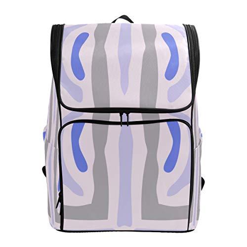 LISNIANY Rucksack,Handgemachte Kaleidoskop Detail Design Tapeten Fliese,Computertasche,Schultasche,große Kapazität