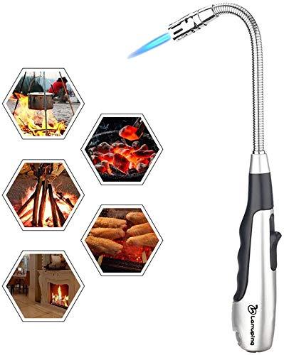 Larruping Torch Lighter Candle Butane Lighter 360 °Jet Flame Lighter...
