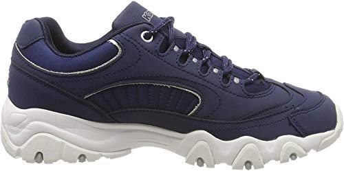 Kappa Damen Felicity Romance Sneaker, Blau (Navy/White 6710), 39 EU