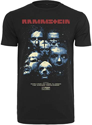 Preisvergleich Produktbild Rammstein Herren Sehnsucht Movie Tee T-Shirt,  schwarz,  XXL