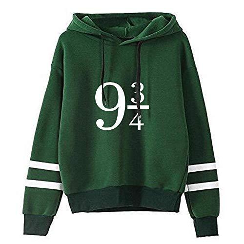 Harry Potter Hoodie 3D gedrucktes Sweatshirt Unisex Zip Jacket Langarm Hoodie-A_4XL