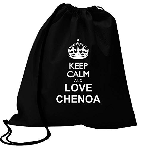 Idakoos Keep Calm and Love Chenoa Bolsa Deportiva 18' x 13'
