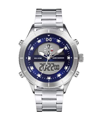 Reloj Mark Maddox Hombre HM1002-37 Analógico-Digital Colección Mission