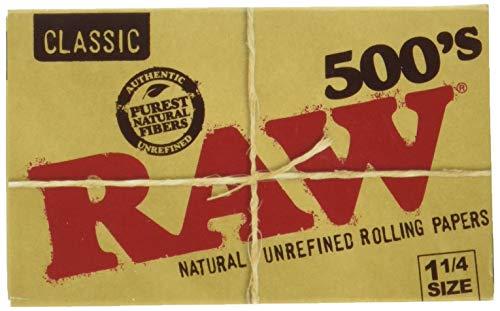 RAW Papel Bloc 500 Hojas 1 1/4 (Cada Estuche Contiene 20 LIBRITOS)