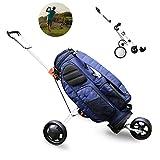MJLXY Chariot De Golf Pliant Chariot A 3 Roue Léger Une Seconde pour Ouvrir Et Fermer Durable Aluminium Convient Aux Amateurs De Golf