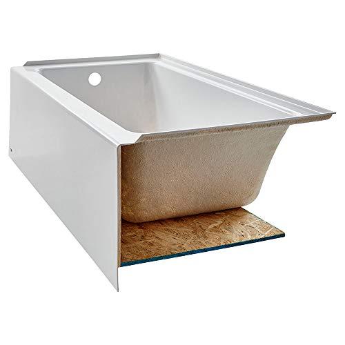 American Standard 2973202.011 Studio Integral Apron Bathtub Left Drain 60 in. x 30 in. in Arctic White