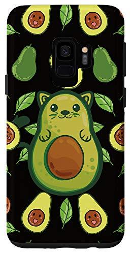 Galaxy S9 Avocado Cat Case