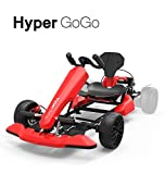 HYPER GOGO GoKart Kit - Hoverboard Attachment - Compatible with All Hover Boards ,Red