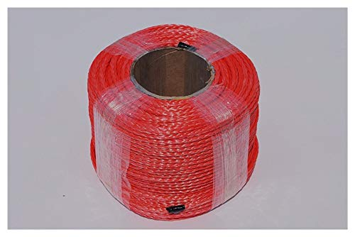 YEZIO Cable de cabrestante Cuerda de cabrestante sintético Rojo de 6 mm...