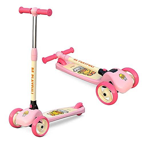 LZZB Scooter para niños, Coche Plegable con Columpio para bebé, Adecuado para...