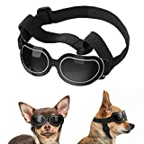 Lewondr Small Dog Sunglasses Reflective Lens Goggles UV Protection Eye...