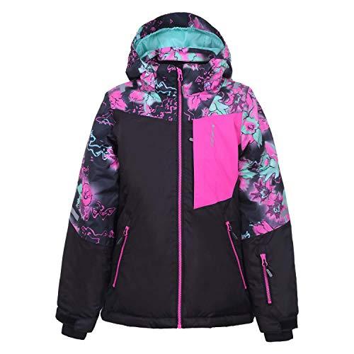 Icepeak Mädchen Skijacke Leeds Jr 50032 Black 152