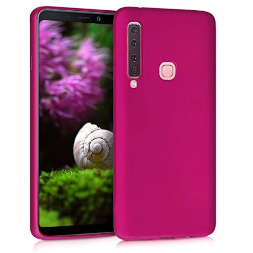 kwmobile Hülle kompatibel mit Samsung Galaxy A9 (2018) - Handy Hülle Metallic Pink