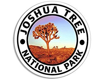 GHaynes Distributing Magnet Round Joshua Tree National Park Magnet(Hike Travel rv) Size: 4 x 4 inch