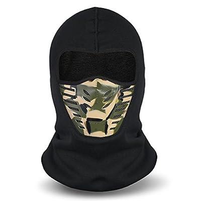 Men?s Winter Balaclava Face Mask Cold Weather Windproof Fleece Ski Ninja Mask