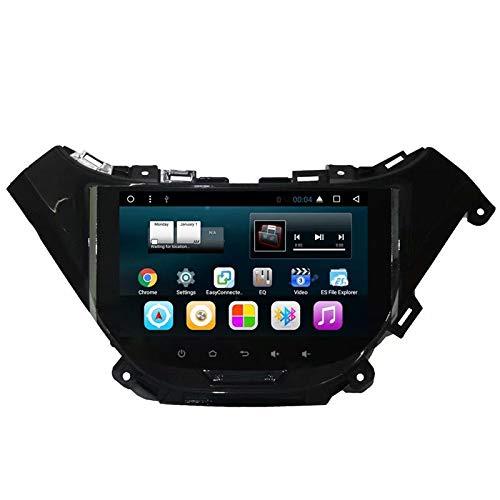 TOPNAVI Android 7.1 Auto Vidéo pour Chevrolet Malibu 2016 2017 2018 Voiture Radio Stéréo GPS Navigation avec Quad Core 32 Go ROM 2 Go ROM WiFi 3G RDS Lien Miroir FM AM BT Audio Vidéo