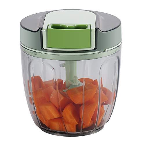 Smile Mom - Cortador de cebollas, cortador de verduras (900 ml)