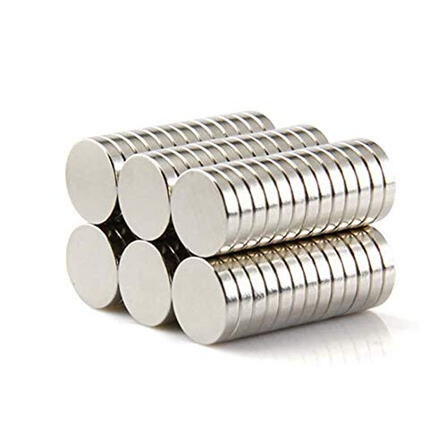 Yizhet Magnete 8x2 mm 50 Stück Mini Magnete für Magnettafel, Whiteboard, Tafel, Pinnwand, Kühlschrank