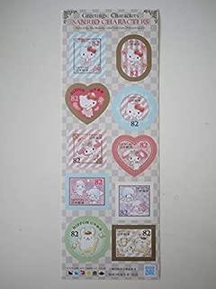 H28 キティ マイメロ キキララ ポムポムプリン 82円切手シート