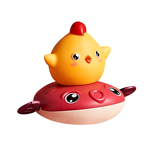 Juguetes de baño para bebé – Juguete de natación para niños – Juguetes de baño flotantes – Juguetes de agua de piscina para niños – Juguetes de ducha – Juguetes de baño para niños – Rojo