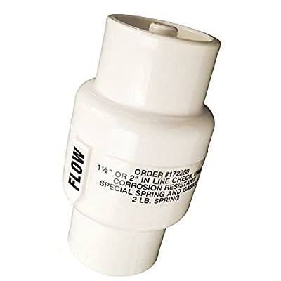 """Rainbow R172288 1.5""""/2.0"""" In Line Corrosion Resistant Check Valve by Rainbow"""