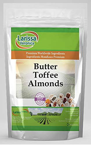 Butter Toffee Almonds 16 oz ZIN: 526289